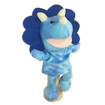 Happy Kids Hand Puppet, interactieve Peuter Pluche Speelgoed (Triceratops)
