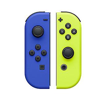 Paire de Manettes Joy-Con Gauche Bleue/Droite Jaune Néon (Amarelo Neon Azul)