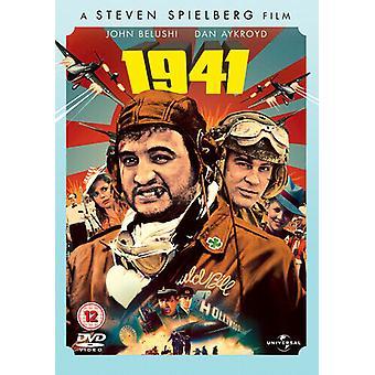 1941 DVD Dan Aykroyd Spielberg (DIR) Zert 12 Region 2