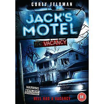 Jacks Motel DVD (2013) Corey Feldman Raffa (DIR) cert 15 Região 2