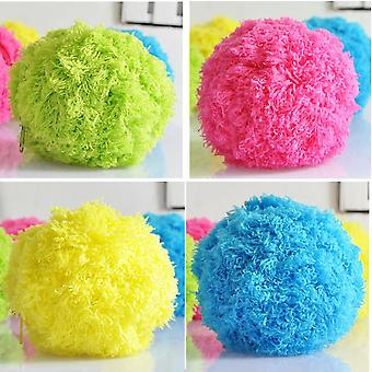 Innovative Home Rolling Vacuum Cleaner Ball Microfiber Pet Dogs Toys Ball