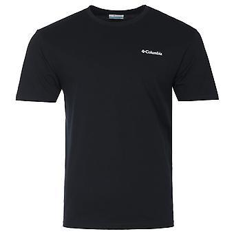 Columbia North Cascades Back Graphic T-Shirt - Black