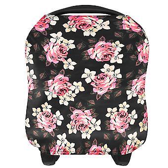 Nursing Cover For Breastfeeding Baby Carseat Canopy Infant Stroller Cover Light Blanket Multi Use Nursing Scarf