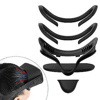 Kasvoliitäntäkiinnike asetettu Oculus Questille linssillä