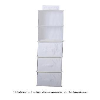 وراء الأبواب للطي شنقا حقيبة تخزين الملابس حقيبة المنظم