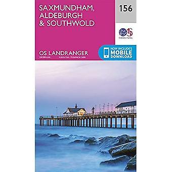 Saxmundham, Aldeburgh & Southwold (OS Landranger kaart)