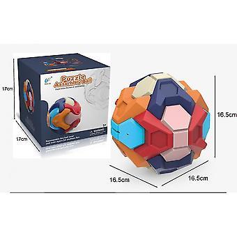 Brettspiele Brettspiel Fidget Spielzeug pädagogisch zusammengebaute Buliding Blocks Sparschwein abnehmbare Ziegelspielzeugkugel