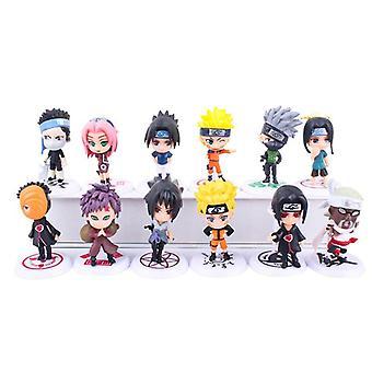 Figuras De Accin De Naruto, Muecos Kawaii De Anime, Regalos Para Nios, Naruto Sasuke, 6 Uds.