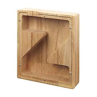 Holzbuchstaben Sparschwein