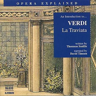 G. Verdi - en introduktion till Verdis La Traviata [CD] USA import