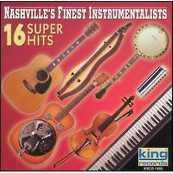 Nashville's Finest Instramentals - 16 Super Hits [CD] USA import