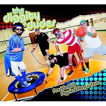 Diggity Dudes - Presidential Physical Fitness Test [CD] USA import