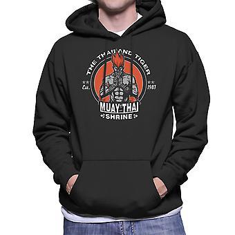 The Thailand Tiger Adon Street Fighter Men's Hooded Sweatshirt