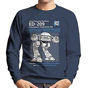 RoboCop ED209 Service en reparatie handleiding mannen Sweatshirt