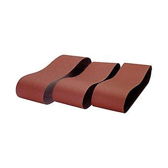 Record de puissance BDS150/B2-3PK 100 x 915mm 80 Grit 3 Pack de ceintures