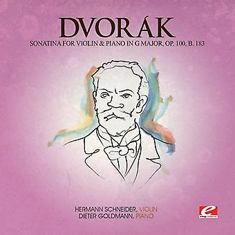 Dvorak - Sonatina viola y Piano G Maj 100 B 183 [CD] USA importar