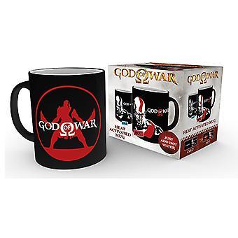 God of War Kratos chaleur changeant Mug