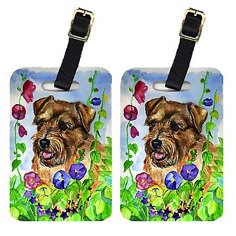 Carolines Treasures  7035BT Pair of 2 Norfolk Terrier Luggage Tags