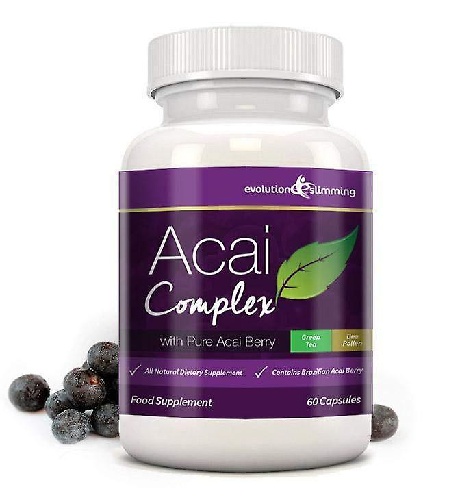 Acai Berry Complex 455mg - 60 Capsules (1 Month Supply) - Acai Berry - Evolution Slimming