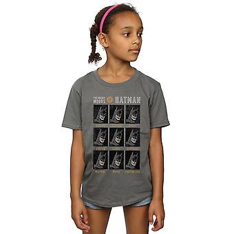 Chicas de DC Comics los muchos humores de la camiseta de Batman