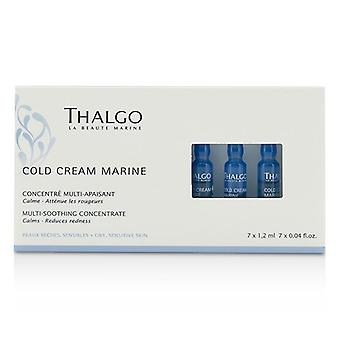 Thalgo Cold Cream Marine Multi-soothing Concentrate - 7x1.2ml/0.04oz