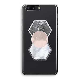 OnePlus 5 Transparant Case (Soft) - Creative touch