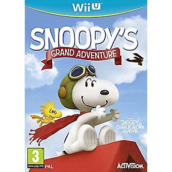 Peanuts Movie Snoopys Grand Adventure (Nintendo Wii U) - New