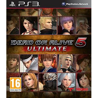 Dead or Alive 5-Ultimate (PS3)-ny