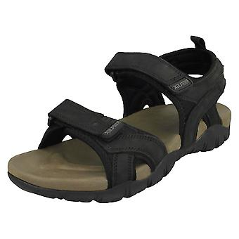 Mens Reflex Flat Hook & Loop Sandalen