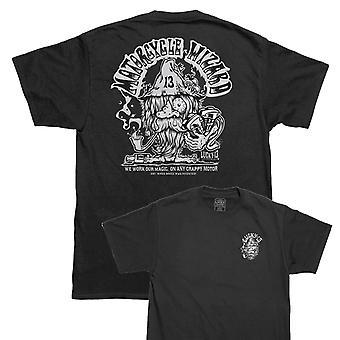 Lucky 13 mens T-Shirt-the Wiz