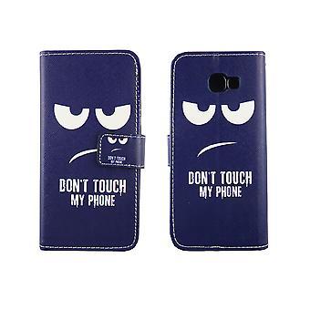 Telefono cellulare custodia per cellulare Samsung Galaxy A5 2017 non toccare il mio telefono