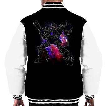 Varsity Jacket Spray de Megatron Transformers masculine
