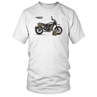 Crianças de Ducati Scrambler exército estilo T-Shirt