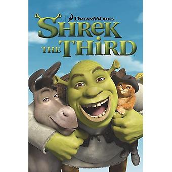 Shrek 3 Poster  Shrek the Third Teaser