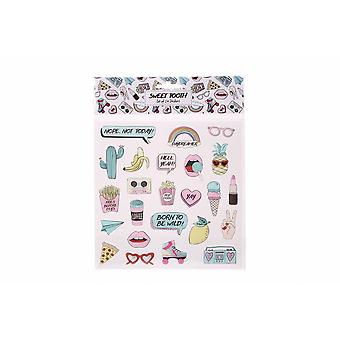 Sweet Tooth Stickers (Set Of 24)