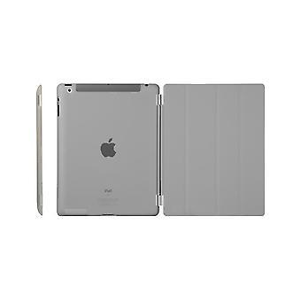 Pokrywę, iPad (2017) / iPad Air + powłoki w twardy plastik, szary