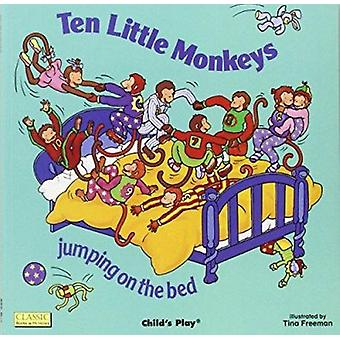 Ten Little Monkeys Jumping on the Bed (Books with Holes) Book