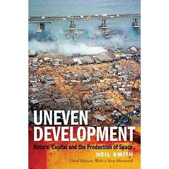 Ujevn utvikling - natur - kapital- og produksjon av plass ved