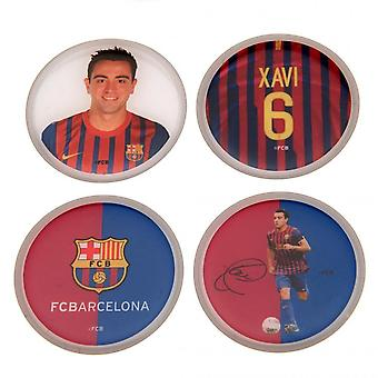 FC Barcelona Xavi 3D Stickers (Pack Of 4)
