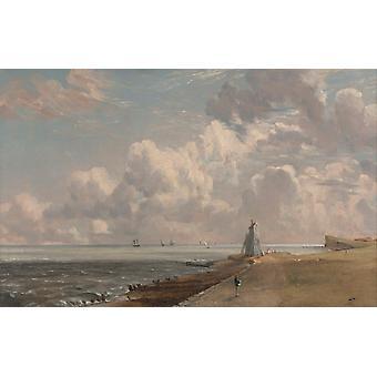 Harwich Lighthouse, John Constable, 60x40cm