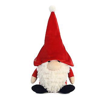 Die Gnomlins Santa Gnome Plüsch rot