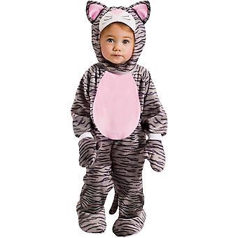 Grey Kitten Toddler Costume