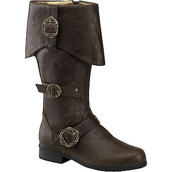 Pirates of The Caribbean Boots Brown