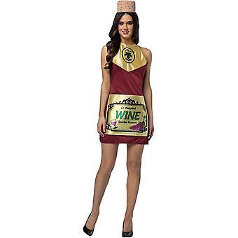 Wine Adult Costume