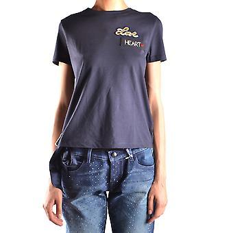 Red Valentino Ezbc026034 Women's Black Cotton T-shirt