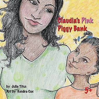 Claudias Pink sparegris lagring af Titus & Julia