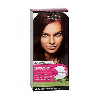 Salon Fashion Hair Colour Deep Red Brown 1