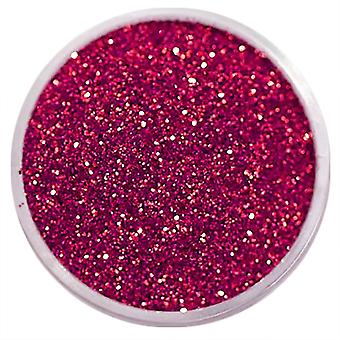 1x Fine-grained glitter dark pink