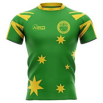 2019-2020 Australien Flag Concept Rugby Shirt-Kids