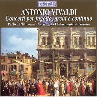 A. Vivaldi - Vivaldi: Concerti for Bassoon, Strings & Continuo [CD] USA import